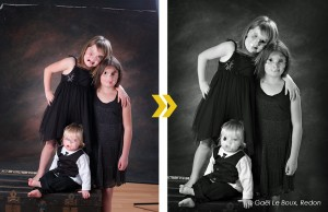 Retouche et finition d'images studio